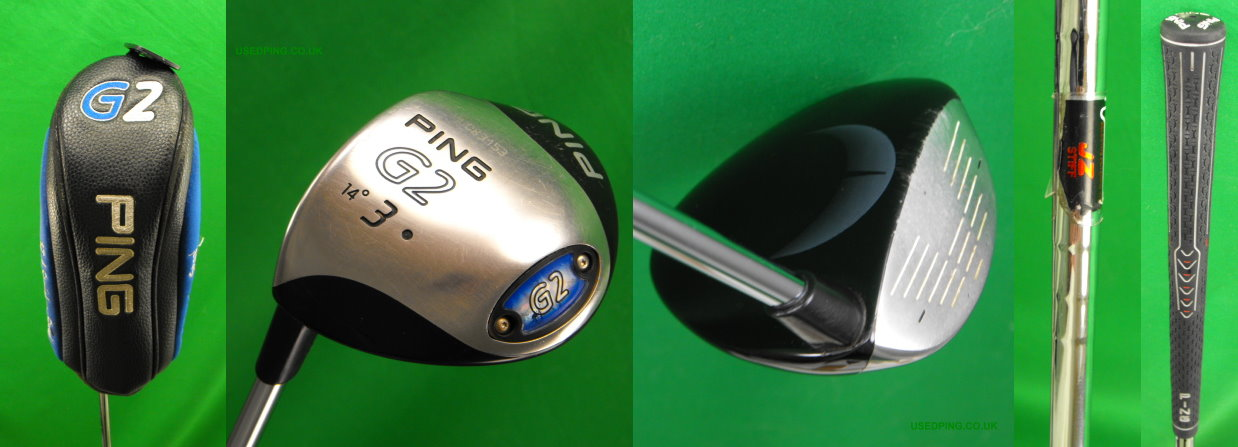 Used Ping G2 Fairway Woods For Sale