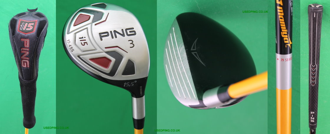 Used Ping G15 G15 Draw K15 And I15 Fairway Woods For Sale