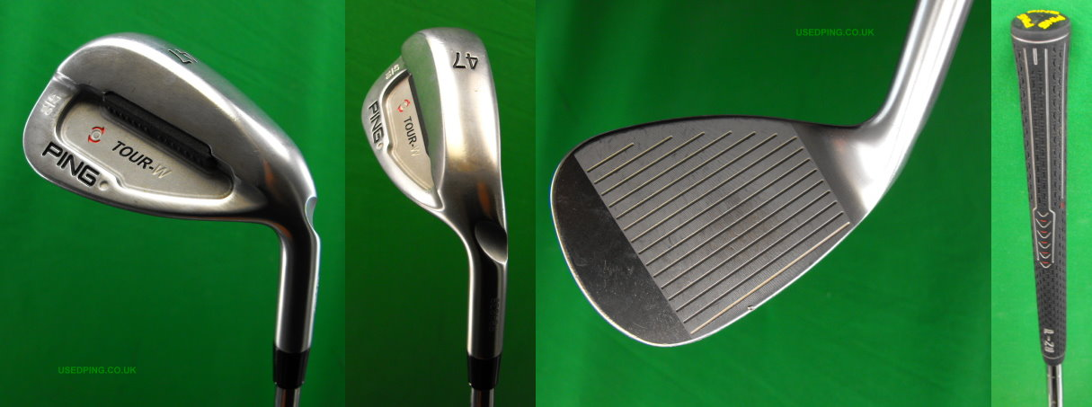 Used Ping Tour Tour W And Tour S Wedges For Sale