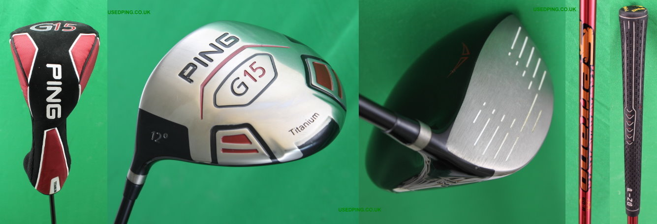 Used Ping G15 K15 G15 Draw And I15 Drivers