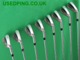 Second Hand PING S59 S58 and S57 Iron Sets for Sale.