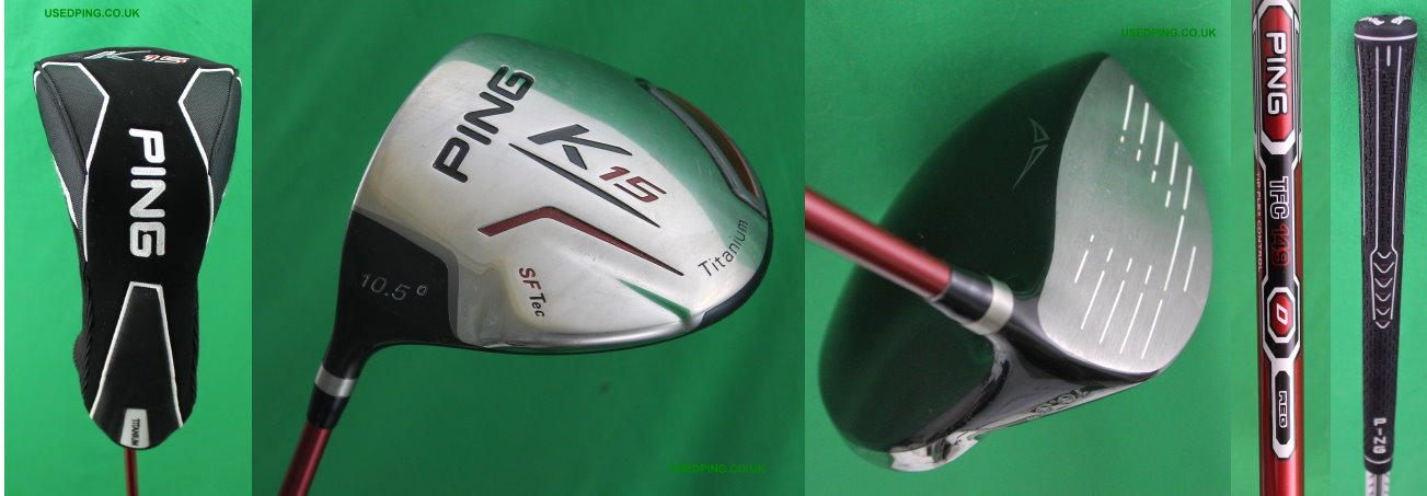 Ping K15 Driver Used