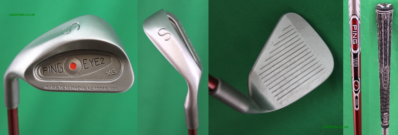 17d11edd75cb Used PING EYE2 XG and EYE2 Gorge Wedges for Sale