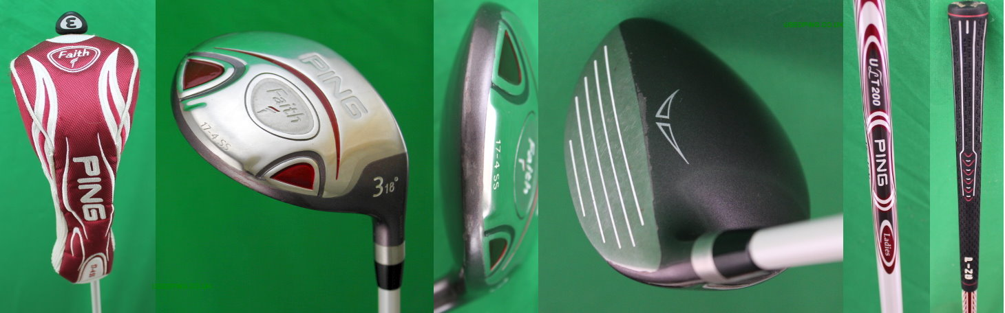Used Ping Womens Fairway Woods For Sale Rhapsody G5l