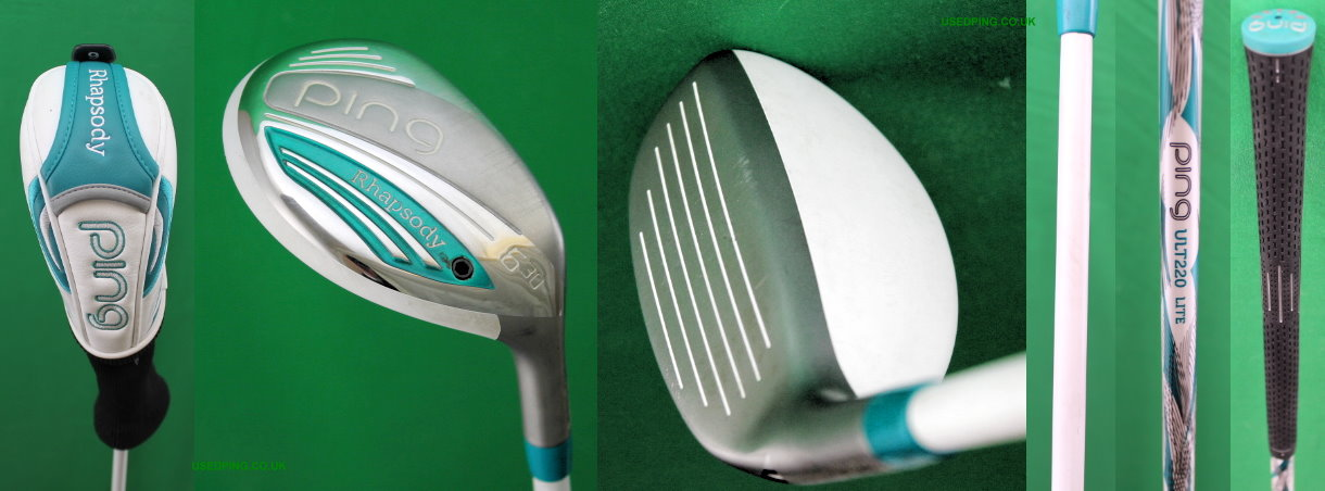 Used Ping Womens Hybrids For Sale G5l Rhapsody