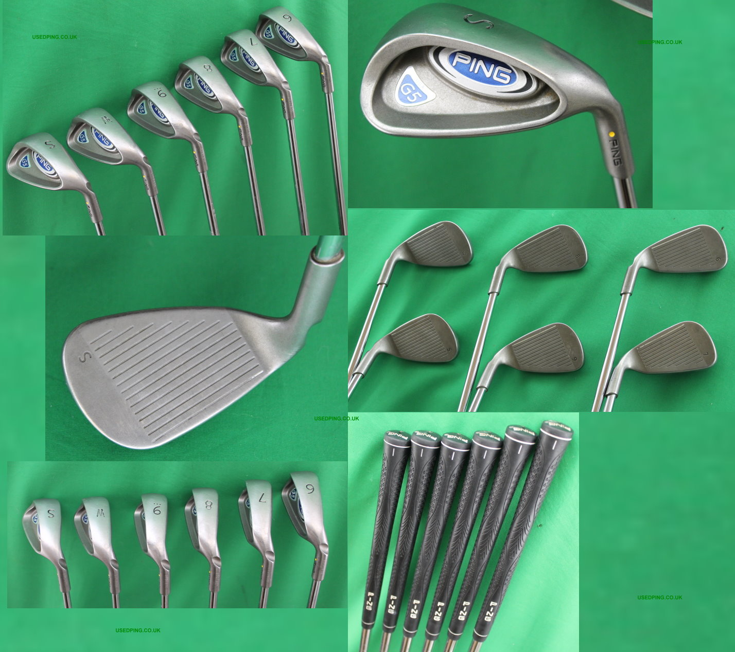 Used Ping G5 And I5 Iron Sets For Sale
