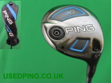 Used PING G, G SF Tec & G Stretch Fairway Woods for Sale.