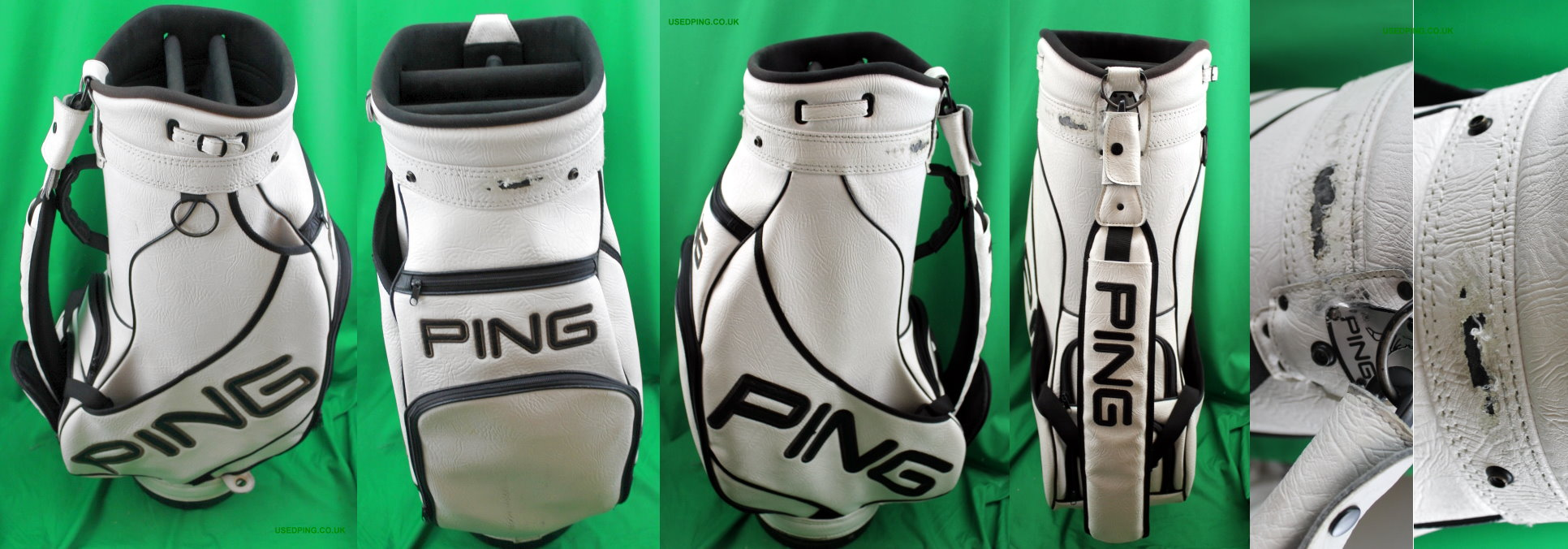 Used Ping Golf Cart Tour And Stand Bags For Sale