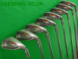 Second Hand PING G10 and I10 Iron Sets for Sale