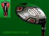 Second Hand PING G15, G15 Draw, K15 & I15  Fairway Woods for Sale