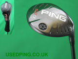 Second Hand PING G25 and I25 Fairway Woods