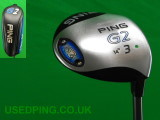 Second Hand PING G2 Fairway Woods for Sale - G2, 3-wood, 5-wood