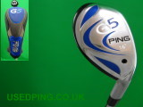 Second Hand PING G5 Hybrids for Sale, G5 16, 19, 22, 25 degree