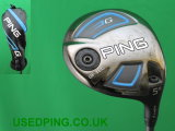 Second Hand PING G GSFTEC & G-Stretch Fairway Woods for Sale