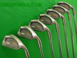 Second Hand PING ISI and ISI-K Iron Sets for Sale