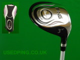 Second Hand PING Ladies G5L, Rhapsody and G2L Fairway Woods for Sale