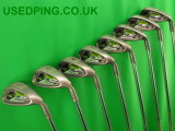 Second Hand PING Rapture and Rapture V2 Irons
