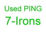 Single PING 7 Iron for sale