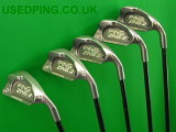 Second Hand PING Zing and ZING2 Iron Sets for Sale